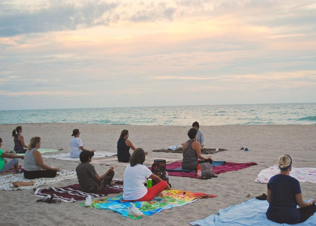 Mindfulness on the Beach